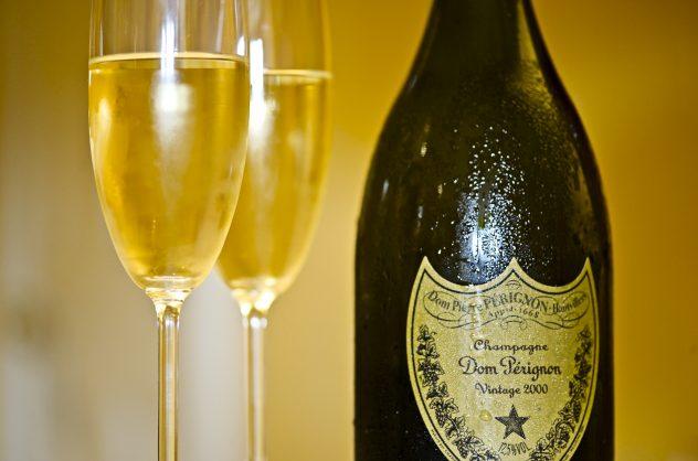 Champagne Dom Pérignon de la casa Moet et Chandon