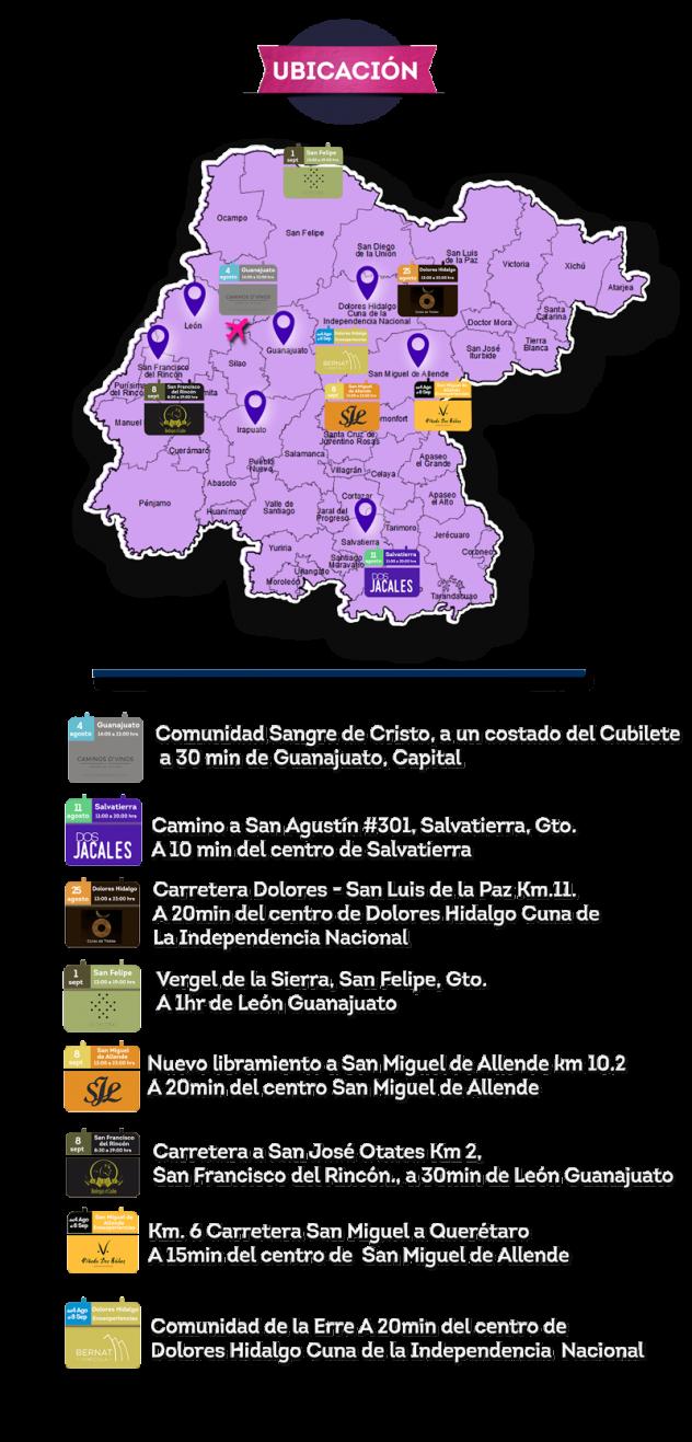Todo listo para las Fiestas de la Vendimia Guanajuato 2018 - Buenos ...